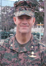 Mike Butler, Maj. USMC, 2008 Ofcr. Rep., Team Supporter